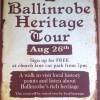New this week - Ballinrobe Heritage Walk