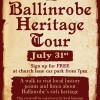 Ballinrobe Heritage Tour - FREE with refreshments afterwards