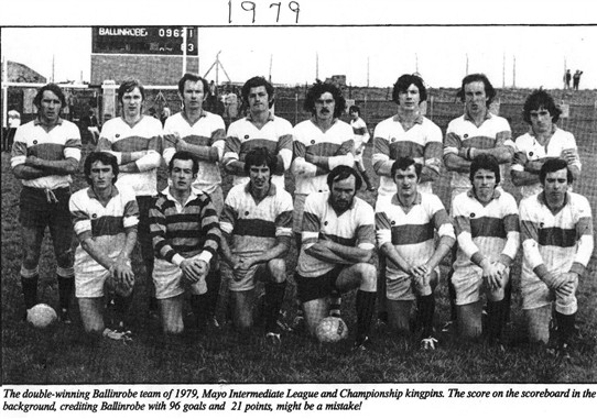 Photo: Illustrative image for the 'Ballinrobe GAA team 1979' page
