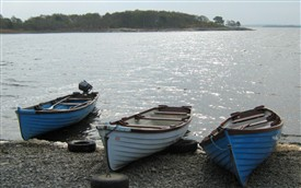 Photo:Three lake boats