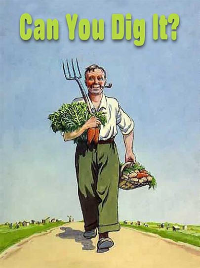 Photo: Illustrative image for the 'Can you dig it?' page