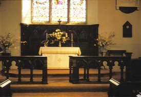 Photo:View of the Altar of St. Marys.