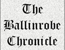 Photo:The Ballinrobe Chronicle banner which has been adjusted.  See copy of original header on this category's page.