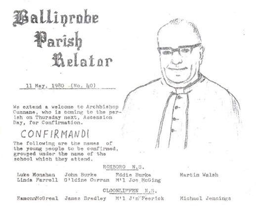 Photo: Illustrative image for the 'Ballinrobe Parish Relator' page