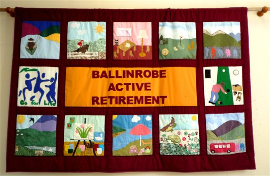 Photo:Banner of the Active Retirement Group