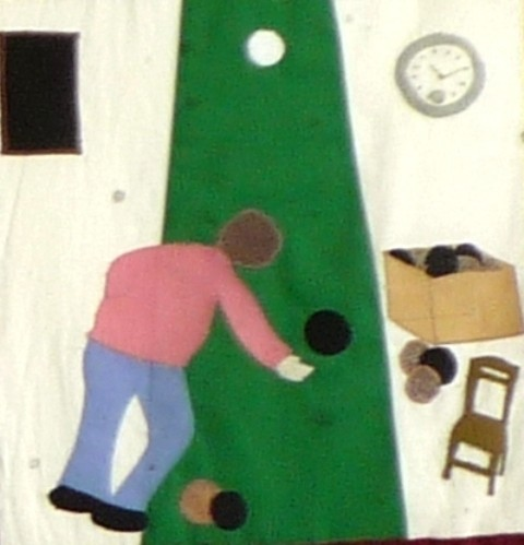 Photo:Indoor bowling activities