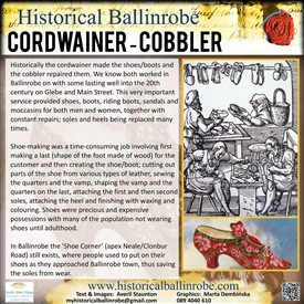 Photo: Illustrative image for the 'The Cordwainer/Shoe Maker Board' page