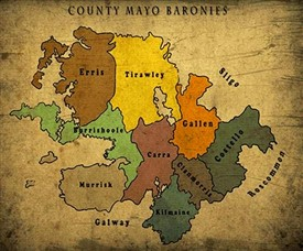 Photo:Co. Mayo baronies