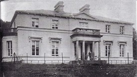 Photo:Cranmore House with members of the Daly Family.