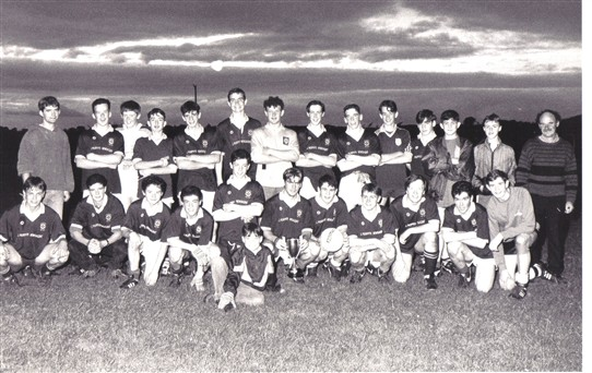 Photo:U16 1993 winning Team