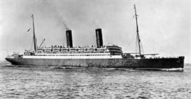 Photo:The ship Caronia owned by Cunard