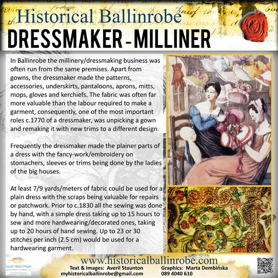 Photo: Illustrative image for the 'The Dressmaker/Milliner' page