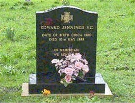 Photo:Headstone of Edward Jennings