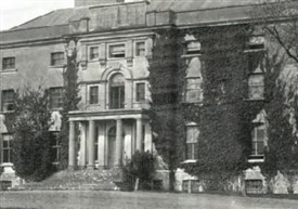 Photo:Facade of Moore Hall c. 1890