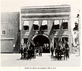 Photo:Fire Station Equipment 1904 - 1912