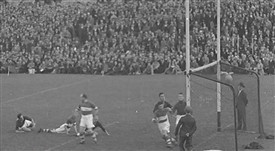 Photo:Its in!  Mayo All Ireland Winners 1936