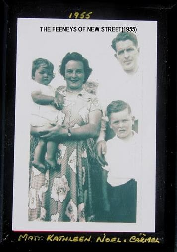 Photo:MATT AND KATHLEEN FEENEY AND CHILDREN 1955