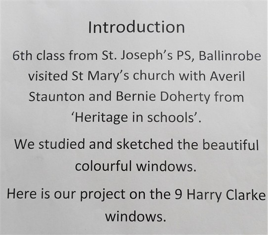 Photo: Illustrative image for the 'Introduction to the Harry Clarke Windows' page