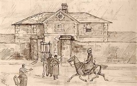 Photo:The Bridewell/Jail c. 1880
