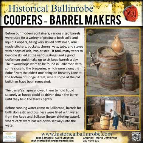 Photo: Illustrative image for the 'Coopers/Barrel Makers' page