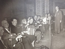 Photo:Martin Fahy at the Keating Benefit, 1949