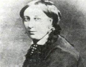 "Photo:Mary Blake of Ballinafad wife of George Henry Moore. The Blakes of Ballinafad and the Blakes of Towerhill (two miles from Moore Hall) were the two most successful junior branches of one of the ""Twelve Tribes of Galway,"" the great merchant families of the city who from the fourteenth century traded with ports in Spain and France."