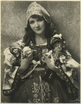 Photo:Mary Philbin in one of her many roles c 1920