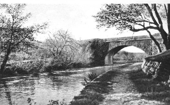 Photo:Titled: The Military Bridge, BAllinrobe