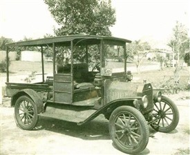 Photo: Illustrative image for the 'Ballinrobe's first car sighting' page