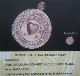 Photo:Photo of image of Seal of Ballinrobe within complex