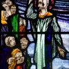 Page link: Harry Clarke Stained-glass windows of  Ballinrobe on RTE Culture File