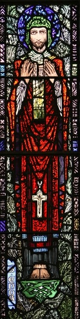 Photo: Illustrative image for the 'St. Enda, Harry Clarke Stained-glass' page