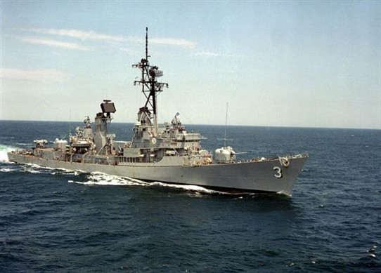 Photo:USS John King commissioned in 1961