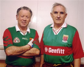 Photo:Michael Coyne and Jim Malone All-Ireland Handball Diamond Masters B doubles 1999