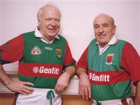 Photo:Tom Tracey and Frank O'Toole RIP - Ballinrobe handball stars of the 1990s