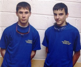 Photo:Jerry Keane left and Kenneth O'Malley (R).    Connaught Colleges B doubles 2000 & 2001 and C. under 14 the same year.