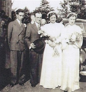Photo:John & Natti (McHugh) married on 26th July, 1938