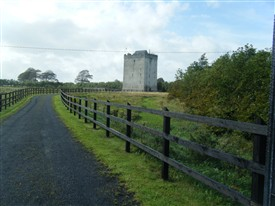 Photo:Turin Castle, outside Kilmaine, Co. Mayo
